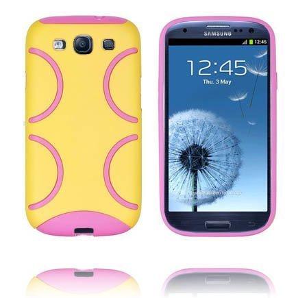 Bomber Keltainen Samsung Galaxy S3 Silikonikuori