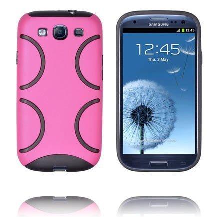Bomber Kuuma Pinkki Samsung Galaxy S3 Suojakuori