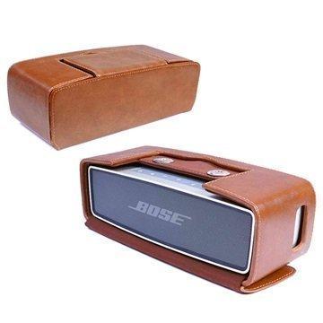 Bose Soundlink Mini Mini II Tuff-Luv Vintage NFC Kotelo Ruskea
