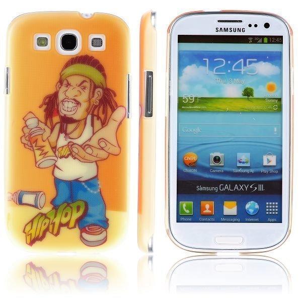 Boy Street Funk Cool Cans Samsung Galaxy S3 Suojakuori