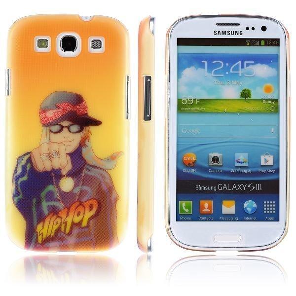 Boy Street Funk Funcky Fist Samsung Galaxy S3 Suojakuori
