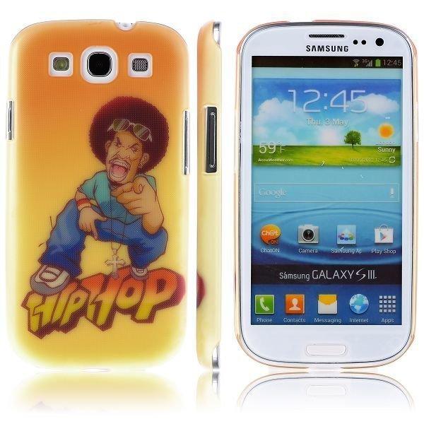 Boy Street Funk Hey You Samsung Galaxy S3 Suojakuori