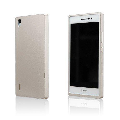 Brandes Kulta Huawei Ascend P7 Alumiini Suojakuori