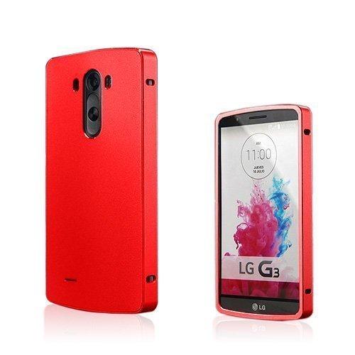 Brandes Punainen Lg G3 Alumiini Suojakehys