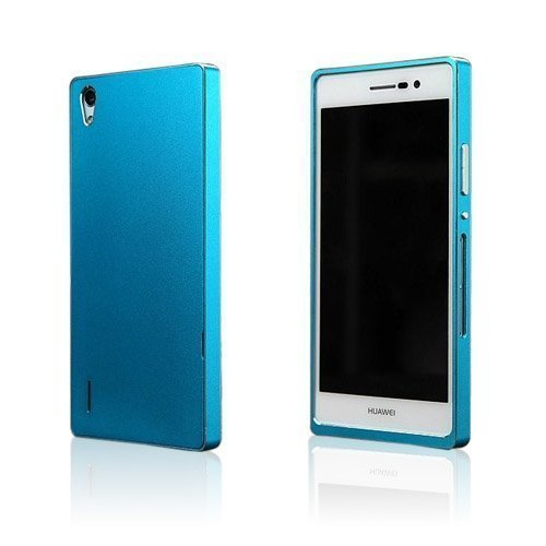 Brandes Sininen Huawei Ascend P7 Alumiini Suojakuori