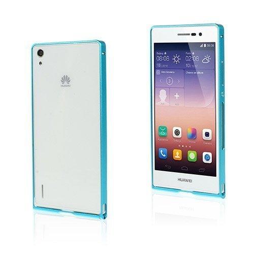 Brandes Vaalea Sininen Huawei Ascend P7 Alumiini Suojakehys