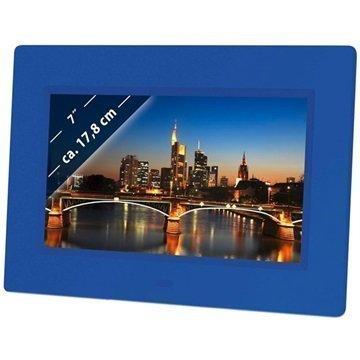 Braun DigiFrame 709 Digitaalinen Valokuvakehys Sininen