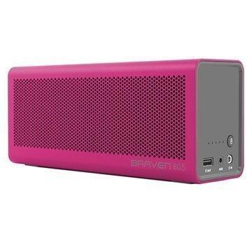 Braven 805 Bluetooth Kaiutin / Virtapankki Magenta