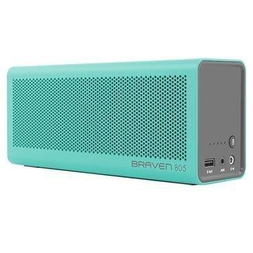 Braven 805 Bluetooth Kaiutin / Virtapankki Teal