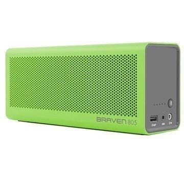 Braven 805 Bluetooth Kaiutin / Virtapankki Vihreä