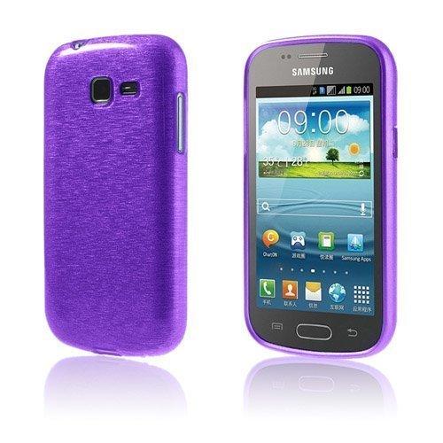 Bremer Kiilloitettu Violetti Samsung Galaxy Trend Ii Suojakuori