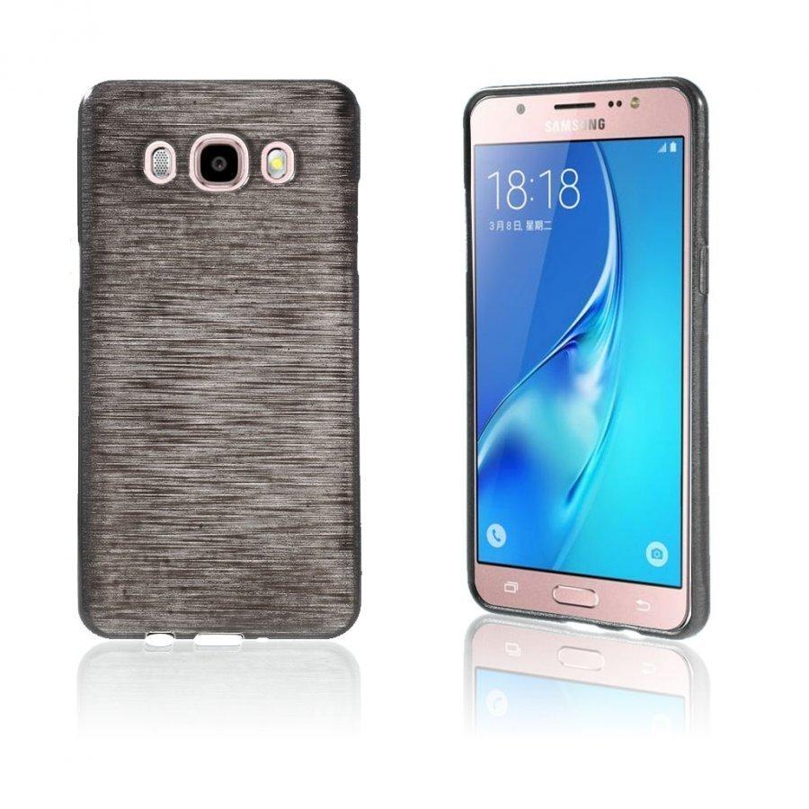 Bremer Kiiltävä Kuori Samsung Galaxy J5 2016 Puhelimelle Musta