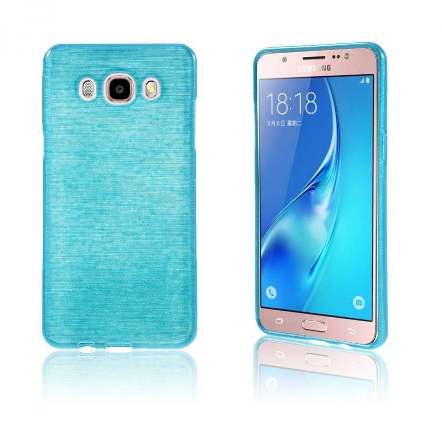 Bremer Kiiltävä Kuori Samsung Galaxy J5 2016 Puhelimelle Sininen