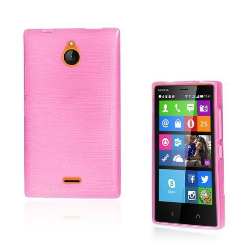 Bremer Kuuma Pinkki Nokia X2 Suojakuori