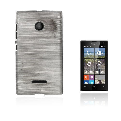 Bremer Microsoft Lumia 435 Suojakuori Harmaa