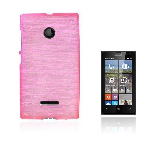 Bremer Microsoft Lumia 435 Suojakuori Kuuma Pinkkiki