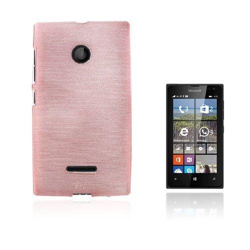 Bremer Microsoft Lumia 435 Suojakuori Pinkki