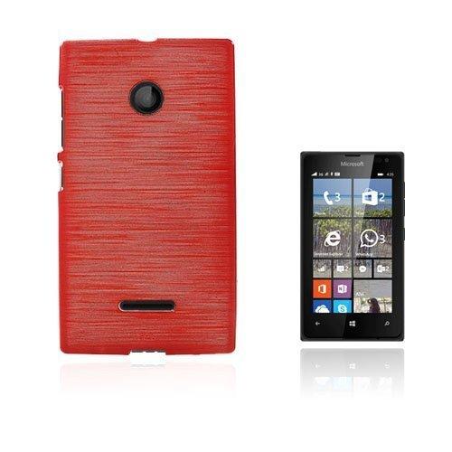 Bremer Microsoft Lumia 435 Suojakuori Punainen