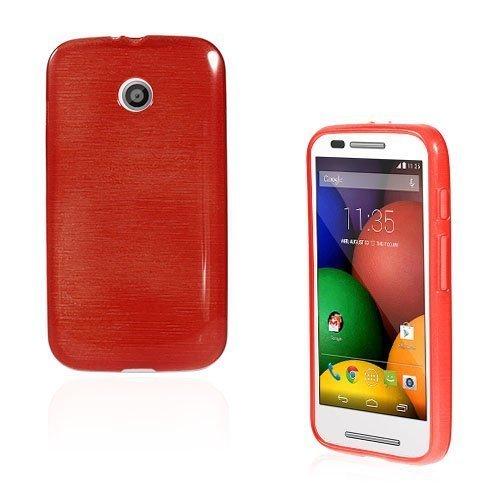 Bremer Punainen Motorola Moto E Suojakuori