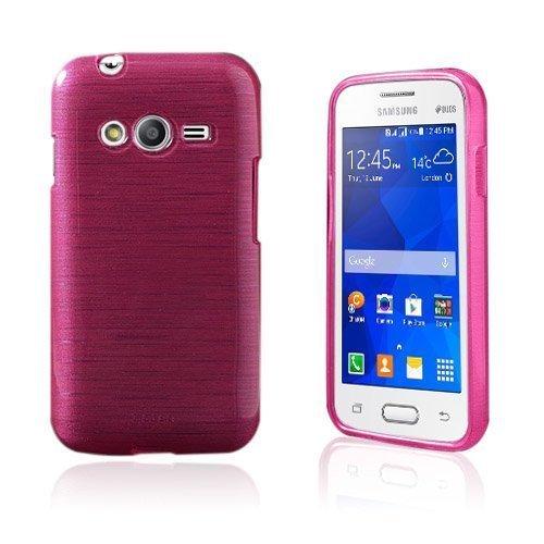 Bremer Samsung Galaxy Ace Nxt Suojakuori Kuuma Pinkki