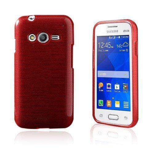 Bremer Samsung Galaxy Ace Nxt Suojakuori Punainen