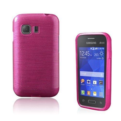 Bremer Samsung Galaxy Young 2 Suojakuori Kuuma Pinkki