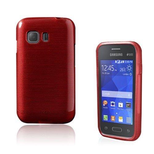 Bremer Samsung Galaxy Young 2 Suojakuori Punainen