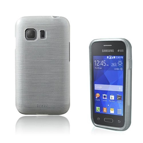 Bremer Samsung Galaxy Young 2 Suojakuori Valkoinen