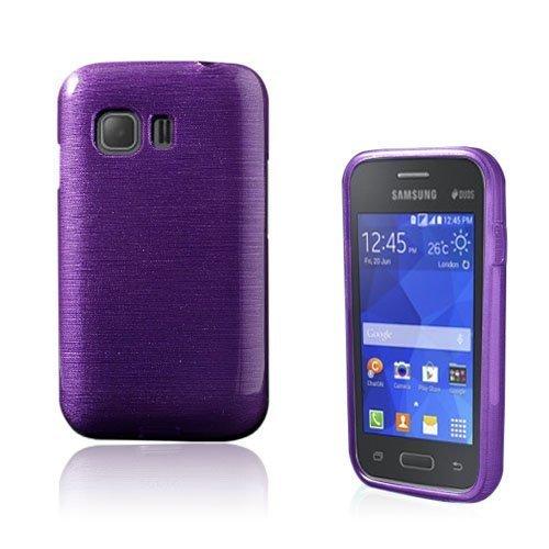 Bremer Samsung Galaxy Young 2 Suojakuori Violetti