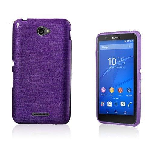 Bremer Sony Xperia E4 Suojakuori Violetti