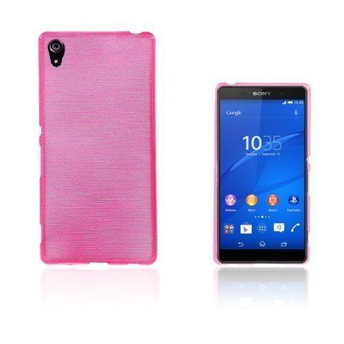 Bremer Sony Xperia Z3+ Suojakuori Kuuma Pinkki