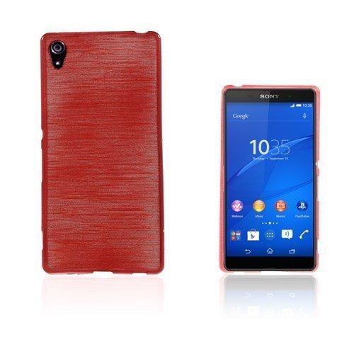 Bremer Sony Xperia Z3+ Suojakuori Punainen
