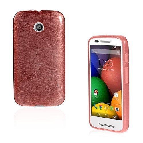 Bremer Vaaleanpunainen Motorola Moto E Suojakuori