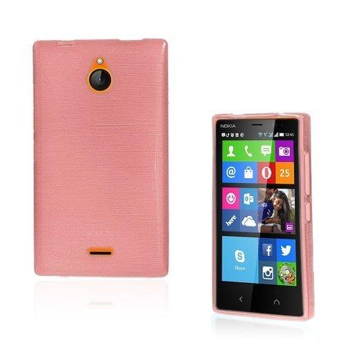 Bremer Vaaleanpunainen Nokia X2 Suojakuori