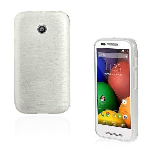 Bremer Valkoinen Motorola Moto E Suojakuori