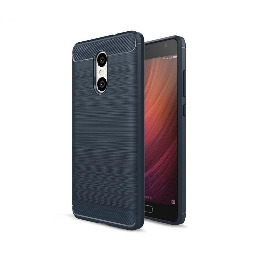 Bremer Xiaomi Redmi Pro Joustava Hiilikuitu Muovikuori Tummansininen