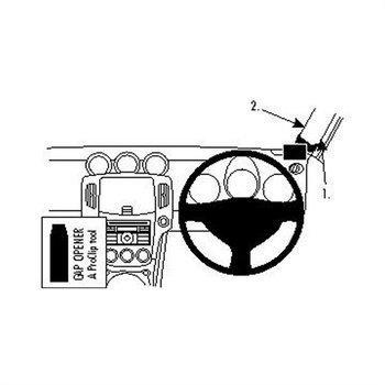 Brodit 604315 ProClip Nissan 370 Z 09-16
