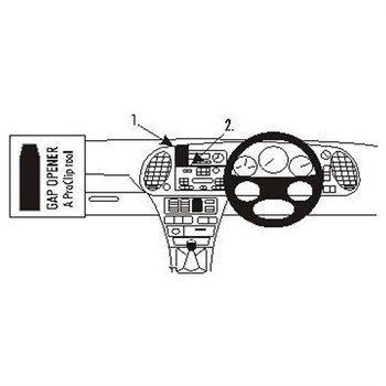 Brodit 653015 ProClip Saab 9-3 98-02