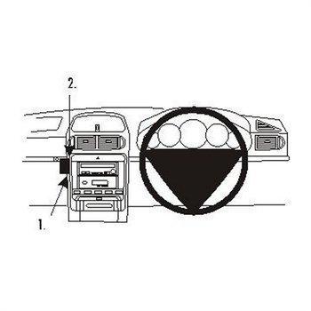 Brodit 653210 ProClip Porsche Cayenne 03-10