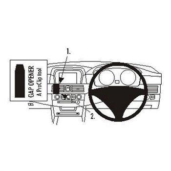 Brodit 653282 ProClip BMW 520-545 / M5 E60 E61 04-10