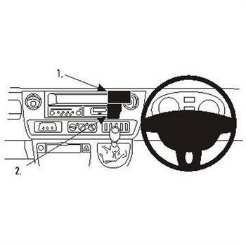 Brodit 653375 ProClip Nissan Interstar 04-11