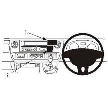 Brodit 653375 ProClip Nissan Interstar 04-11