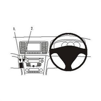 Brodit 653903 ProClip Subaru Legacy 07-09