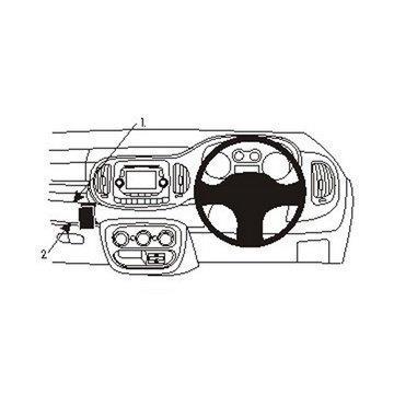 Brodit 654881 ProClip Fiat 500 L 13-16