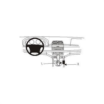 Brodit 832843 ProClip BMW X5 00-06