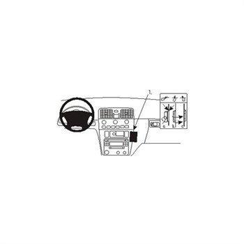 Brodit 852825 ProClip Volvo S40 01-03