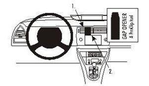 Brodit 853534 ProClip Citroen C4 05-10