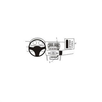Brodit 853655 ProClip BMW Z4 03-08