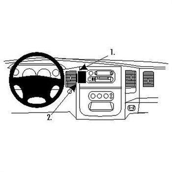 Brodit 854653 ProClip Dodge Ram Pick Up 1500 02-05