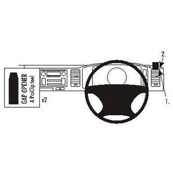 Brodit ProClip Toyota HiAce 07-16